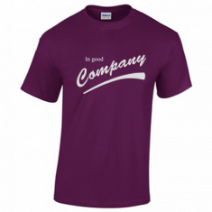 CO 'In Good Company' Purple T-shirt
